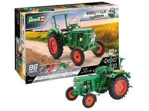 Revell 07821 - 1/24 Deutz D30 Tracteur - Easy-Click - Neuf