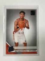 2019-20 Panini Clearly Donruss Rui Hachimura Rated Rookie RC Acetate #58 Wizards