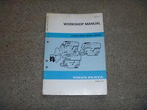 Volvo Penta AQAD30A MD30A Marine Engine Workshop Service Repair Manual