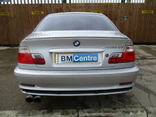 BMW E46 3 SERIES COUPE PRE-FACELIFT BOOT BOOTLID + SPOILER SILVER BARE GENUINE