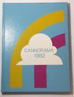 1982 CANNON FALLS HIGH SCHOOL Minnesota Original YEARBOOK Annual Cannorama