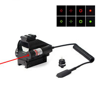 Rifle Red Green Dot Holographic Reflex Scope Laser Sight Combo 20mm Rail & Mount