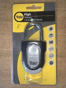 Yale Combination Padlock 55mm Slide- SKU - Y879/55/130/1