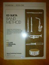 Ed Sueta Band Method . Trombone . Book One