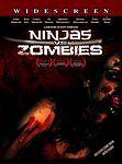 Ninjas vs. Zombies (DVD, 2010)