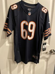 Jared Allen #69 Chicago Bears NFL Nike on field Jersey Youth (L)