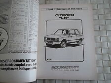 REVUE TECHNIQUE CITROEN LN
