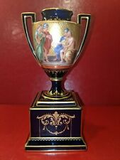 Royal Vienna Urn / Vase Hand Painted & Signed Kohl, Excellent Condition.