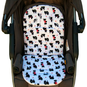 3D Air Mesh Seat Cushion Pad Cotton for Infant Stroller, Car Seat All Weather