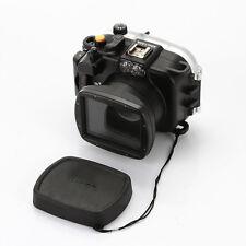 Meikon 40M 130ft Underwater Waterproof Housing Diving Case for Sony WX500 Camera