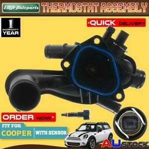 Thermostat Housing Assembly for Mini Cooper S Clubman R55 R56 R57 1.6L 2007-2013