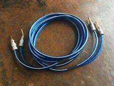 Single 8ft Center Channel Cable   10 Gauge   Nakamichi 2mm Pin to Banana Plugs