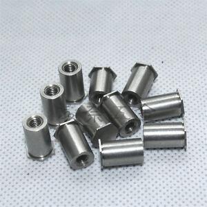 M2 M2.5 Blind hole pressure rivet nut column 4-12mm length mounting hole 4.2mmOD