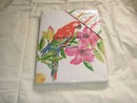 NEW LAURA ASHLEY TROPICAL FLOWERS AND PARROT SINGLE DUVET COVER AND PILLOWCASE