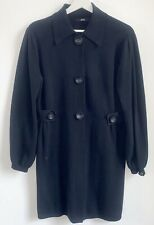 Marks and Spencer Women Navy Cotton coat size 14