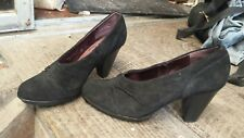 Indigo by Clarks Leather Suede Corporate or Fun Heels 9M