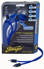 Stinger RCA Cable SI6217 17 Feet 2 Channel Stereo Interconnect 6000 Series