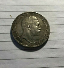More details for german pre-wwi funf (five) mark coin 1903 - kaiser wilheim ii & king of prussia