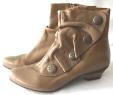 Eric Michael Soho Tan Ankle Boots Shoes Spain leather Booties Ankle Boots 36 5.5