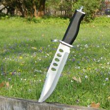 """13"""" Military Survival Rambo Fixed Blade Combat Knife Bayonet Machete w/ Sheath"""