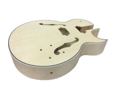 Solo ES Style Guitar Body, Full Hollow Body, Maple Top
