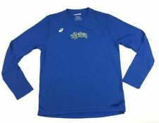ASICS Mens Circuit 8 Warm-up Long Sleeve Royal Medium