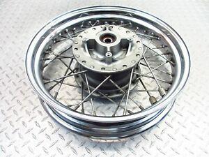2005 01-08 Triumph Bonneville T100 Rear Wheel Rim Video 17x3.5