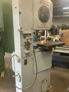 """DOAll Band Saw Model 16"""" WITH BLADE WELDER"""