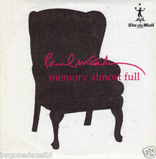 PAUL McCARTNEY - MEMORY ALMOST FULL - MAIL ON SUN PROMO CD free post!!
