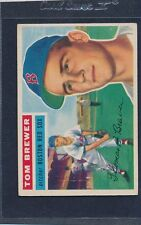 1956 Topps GB #034 Tom Brewer Red Sox VG/EX 56T34-91715-2