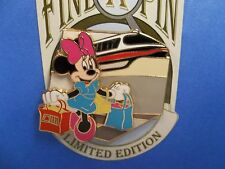 Disney World 2008 Find ( A ) Pin Series Minnie Shopping Pin LE of 1000 / 2 of 12