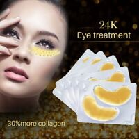 Crystal Gold Collagen Under Eye Patches Mask DARK CIRCLES BAGS WRINKLES