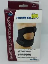 FLA Sports Neoprene Orthopedics Patella Support XLarge Black