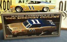 Mario Andretti #11 1968 mercury Cyclone  AUTOGRAPHED Univ of Racing 1:24 Scale