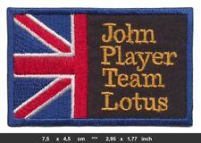 JPS John Player Team Lotus Aufnäher Aufbügler Patch Racing England BLITZVERSAND