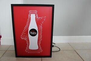 "Coca Cola ""Coke Studio Sessions"" Working Light Box - 24.5"" x 17.5"""