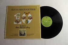 PETER, PAUL AND MARY The Best Of LP Warner Bro 46051 Germany 1971 VG++ 0I