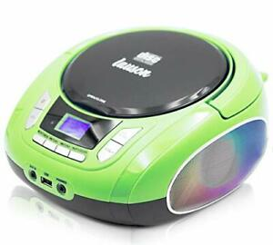 Lauson Woodsound NXT564 Boombox with Cd Player Mp3 | Portable Radio CD-Player...