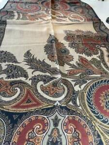 $505 NEW Etro collection WOOL SILK shaal-nur,xl,dress scarf shawl 70x200cm,80x27