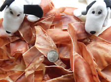Dog Treats Chews. Cut Halved Pig Ears. 100 Australian. Pet Teeth Dental Healthy