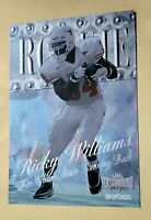1999 Fleer Metal Ricky Williams RC Nm+ 1-OWNER #209 Texas