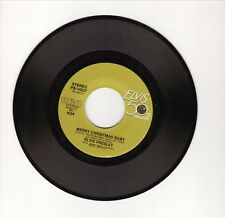"Elvis Presley--""Merry Christmas Baby""-1985 Vinyl 45-Elvis 50th Anniversary Label"