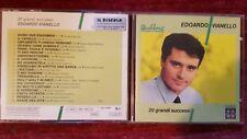 EDOARDO VIANELLO - 20 GRANDI SUCCESSI. CD RCA