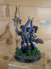 CLASSIC METAL WARHAMMER CHAOS SPACE MARINE AHRIMAN THOUSAND SONS PAINTED (1547)