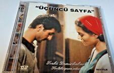 ucuncu sayfa 2 disk VCD TURKCE TURKISH drama