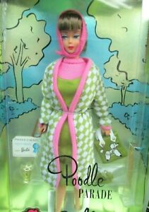 "1965 ""POODLE PARADE"" BARBIE~AMERICAN GIRL DOLL+FASHION~~REPRO MINT SET~NRFB~L.E."