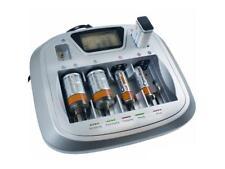 LCD Batterie Ladegerät A77 Akku Ladestation für AAA AA C D 9V Block Universal