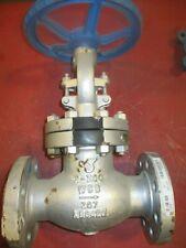2 Newco 02-23F-CB2 Globe Valve 300 RF Cast Steel