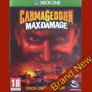 CARMAGEDDON MAX DAMAGE - Microsoft Xbox ONE ~18+ Brand New & Sealed