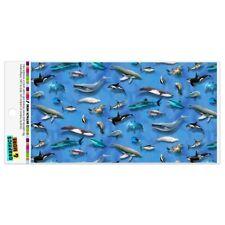 Ocean Life Whale Dolphin Manatee Shark Pattern Automotive Car Vinyl Magnet